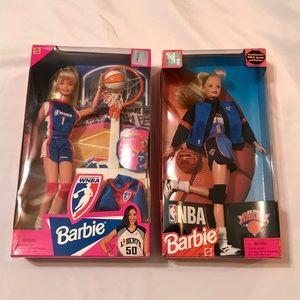 🏀 WNBA & NBA Barbie Bundle 🏀🏀🏀🏀🏀